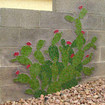 Cactus Mosaic Mural | Yelp