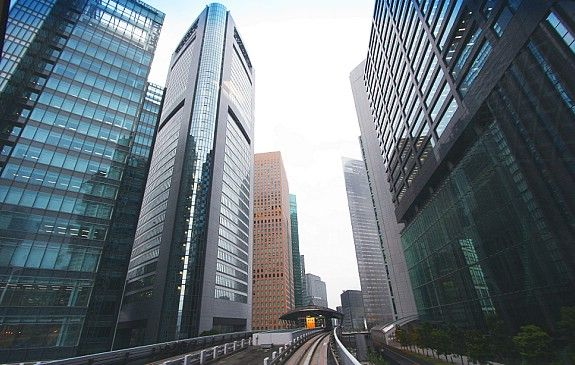 Tokyo Travel: Shiodome = check out recent urban planning of entire new area