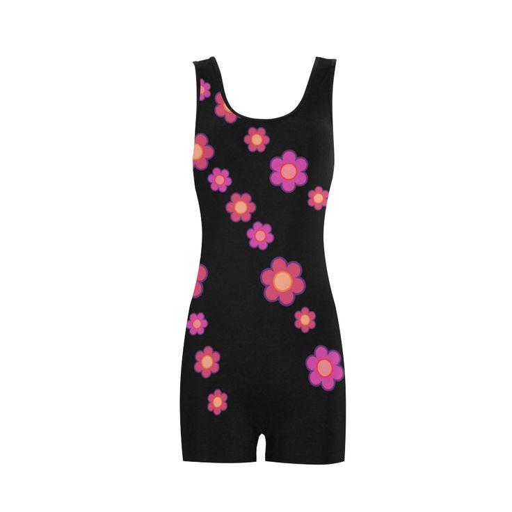 Pink Blossom Flowers Classic One Piece Swimwear