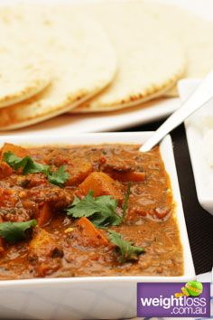 Pumpkin Rogan Josh. #HealthyRecipes #DietRecipes #WeightLoss #WeightlossRecipes weightloss.com.au