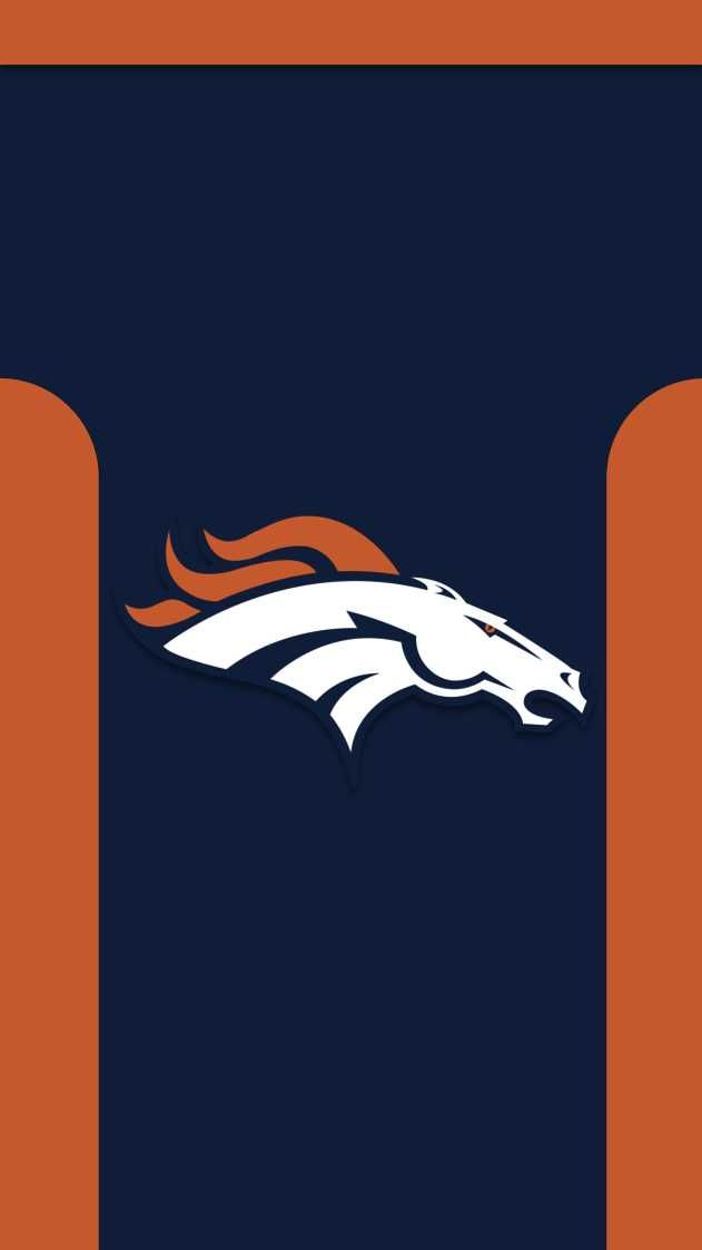 I Made Phone Wallpapers Based On The Jerseys Of Every Nfl Team With Throwbacks As An Added Denver Broncos Wallpaper Denver Broncos Logo Denver Broncos Images