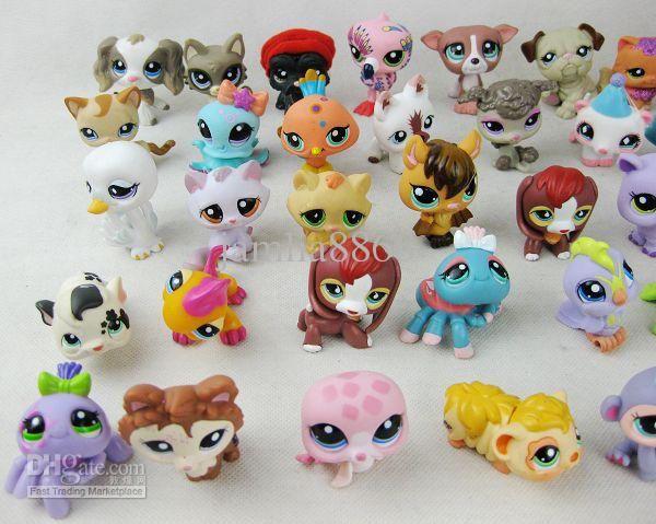 Großhandel Kostenloser Versand Neuen Action Figuren Littlest Pet Shop Lps Tier Sammlung Spielzeug Hasbro Kinder Kinder Spielzeug Puppen Geschenke /Menge Von Jamlia8866, $1.03 Auf De.Dhgate.Com | Dhgate