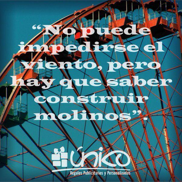 #MarcaLaDiferencia Cualquier día es ideal para empezar a construir molinos @RegalosUniko
