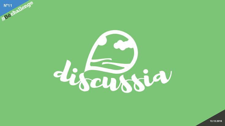 #Bechallenge | No.11 | DISCUSSIA on Behance