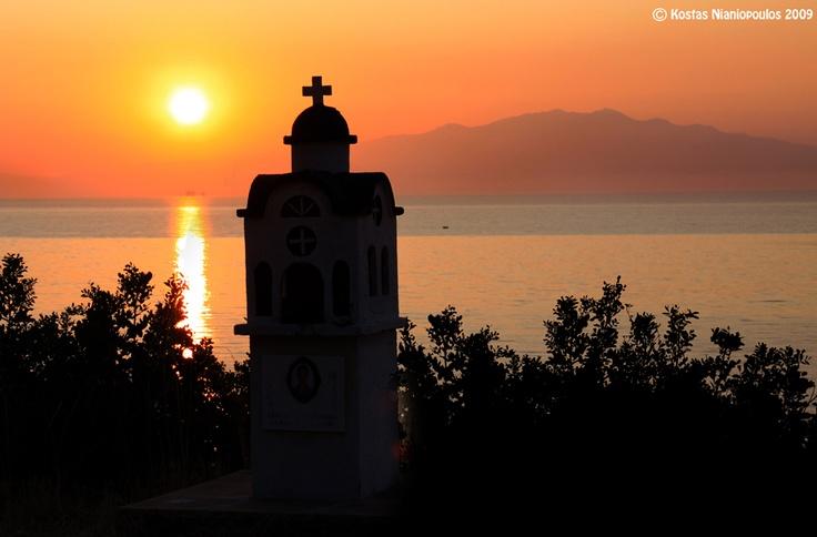 Thassos Island Sunset