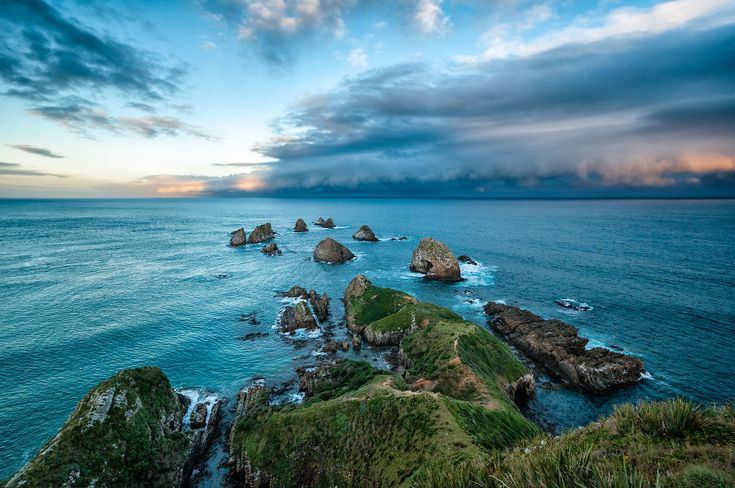 New Zealand's South Island Is Heaven on Earth: Approaching Storm Nugget Point