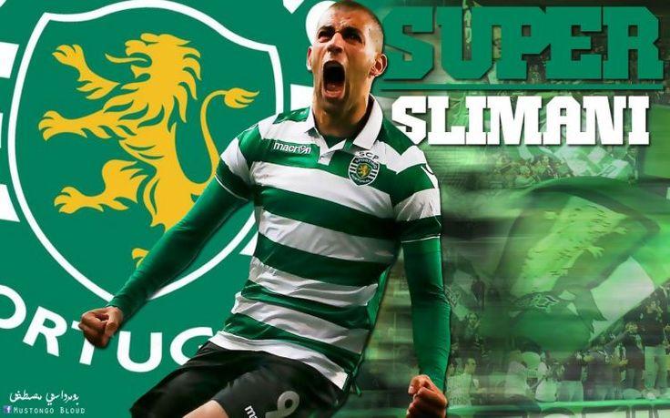 Fonds d'écran Sports - Loisirs > Fonds d'écran Football Islam Slimani par mustaphamilano - Hebus.com