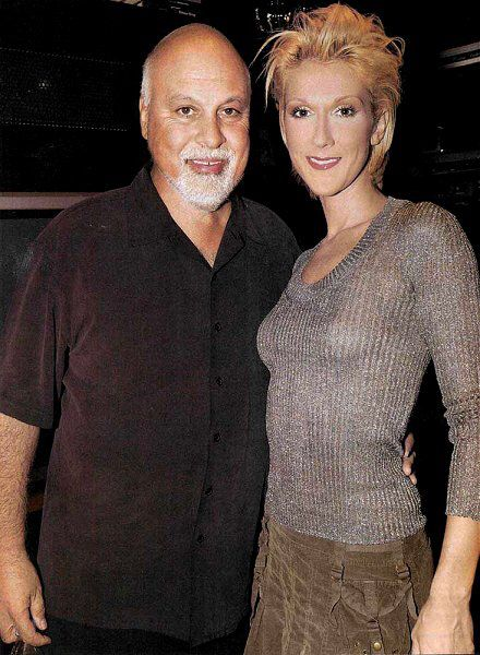 Céline Dion et René Angélil ☝️Conférence de presse A New Day 2003
