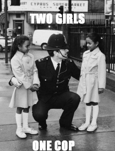 2 girls 1 Cop