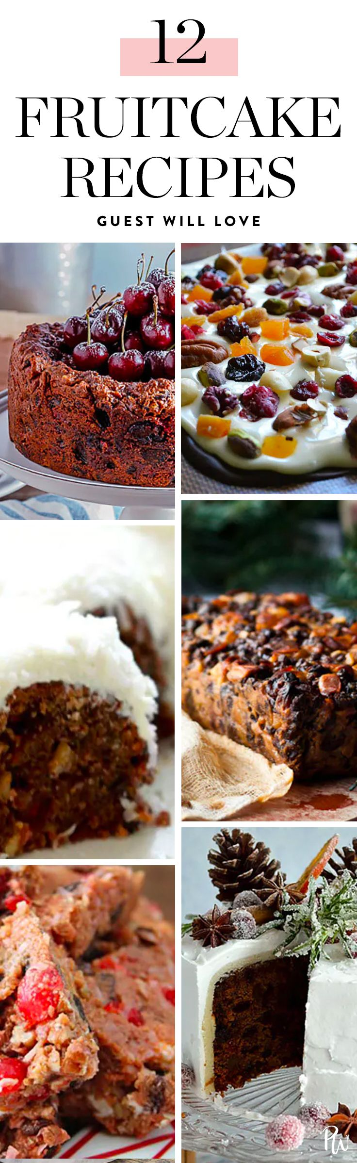 Fruitcake gets a bad rap, but when done right, it's the ultimate holiday breakfast, afternoon treat or festive dessert. Get all the recipes here. #holidayrecipes #holidaydesserts #christmas #fruitcake
