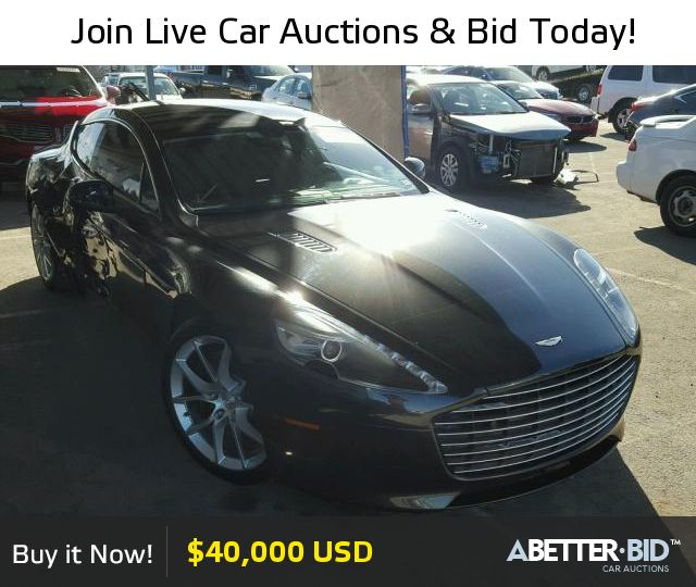 Salvage 2014 ASTON MARTIN ALL MODELS For Sale