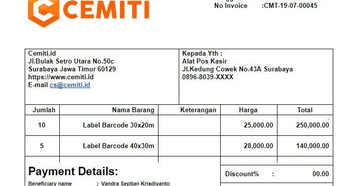 Apakah Yang Dimaksud Dengan Invoice Faktur Atau Invoice Adalah Dokument Yang Digunakan Sebagai Bukti Pembelian Yang Digunakan Untuk Pen Nama Menyerah Tanggal