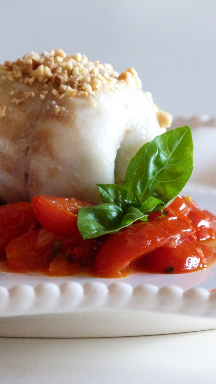 ROCHER DI SPIGOLA AGLI SPINACI E POMODORO DATTERINO (ricetta dello Chef Davide Mazza)