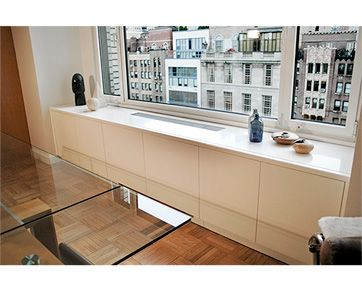 Custom Built Radiator Covers & Radiator Enclosures - ManhattanCabinetry.com - NYC
