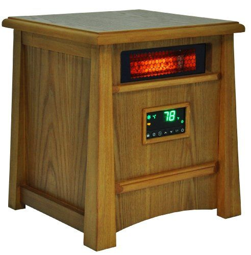 Check amp with Kevin. Lifesmart Corp Lifelux Series Ultimate 8 Element Extra Large Room Infrared Heater W/ Air Ionizer System Deluxe Wood Cabinet & Remote Lifesmart http://smile.amazon.com/dp/B00F4BHGBQ/ref=cm_sw_r_pi_dp_p10fub1R9TW8C