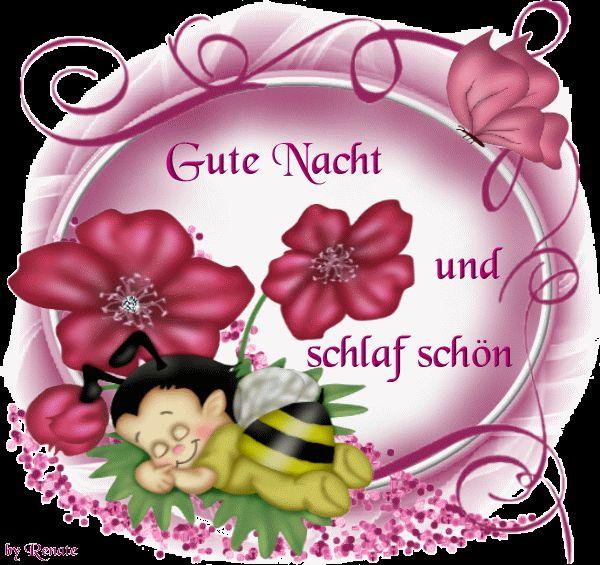 GIF - herzallerliebst  - Gute Nacht mein kleiner Schatz!
