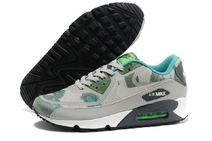 Womens Nike Air Max 90 Essential Light Base Grey Diffused Jade Atomic Violet Sneakersshoes nike air max nike roshe cheap low price