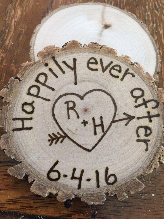 25 Rustic wedding favor magnets barn wedding country  favors true love bridal shower favors