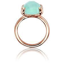 Resultado de imagen para anillos verde agua