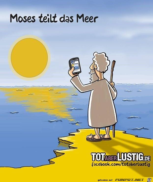 lustiges Bild 'Moses.jpg'- Eine von 3131 Dateien in der Kategorie 'Cartoons / Comics' auf FUNPOT.