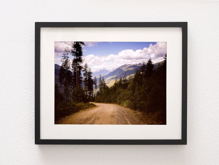 Lookout Road, Selkirk Mountains, Canada Wall Art Print - Many Sizes
