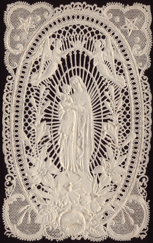 How marvellous - our beautiful Blessed Virgin Mary