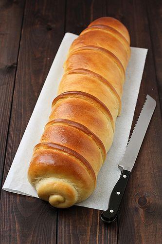 Cuina per llaminers - Brioix amb pernil dolç i formatge