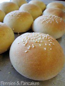 Pennies & Pancakes: Soft Hamburger Buns ($0.09 each)