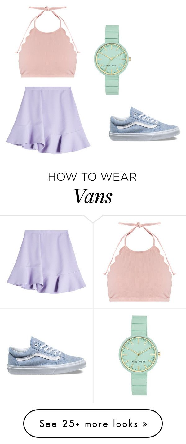 """""""Untitled #11"""" by camicami9193 on Polyvore featuring Carven, Marysia Swim, Vans and Nine West"""