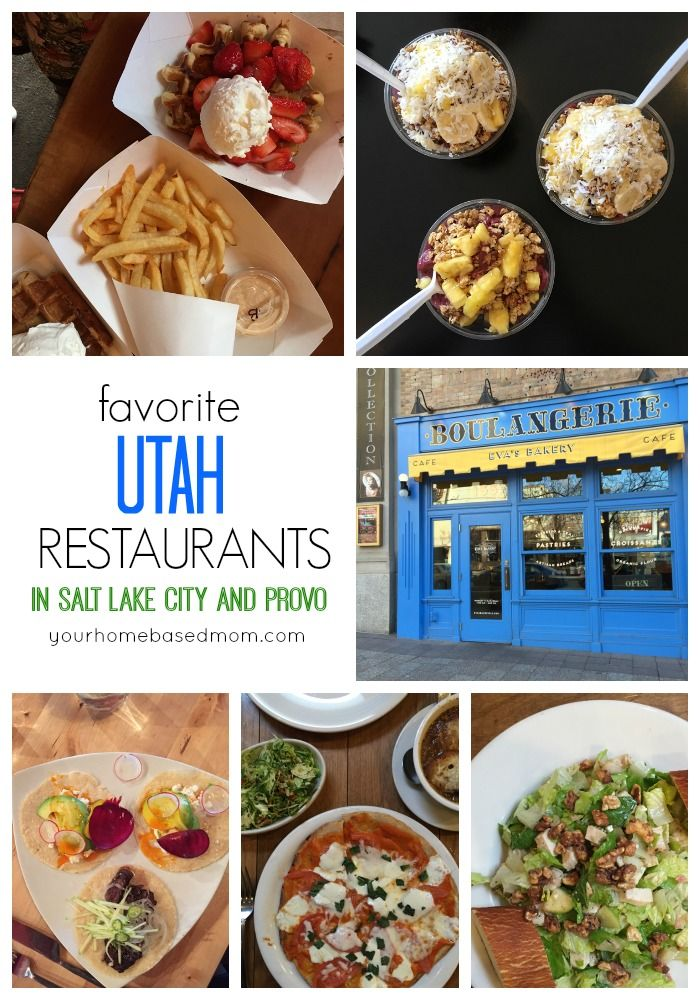 Favorite Utah Restaurants