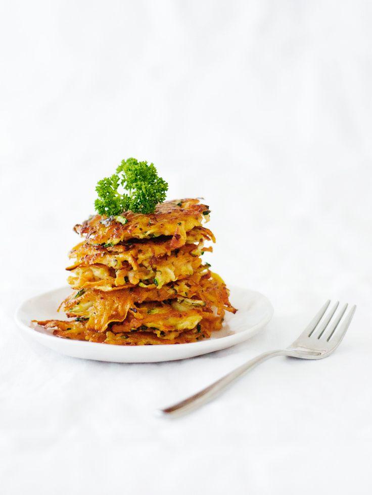 Zoete Aardappelkoekjes met Courgette