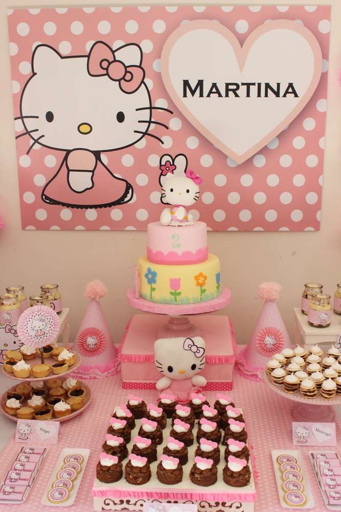 Hello Kitty Birthday Party Ideas   Photo 6 of 15