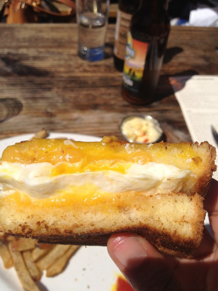 Grilled cheese with sunny side up egg #360 #seattle #amazing