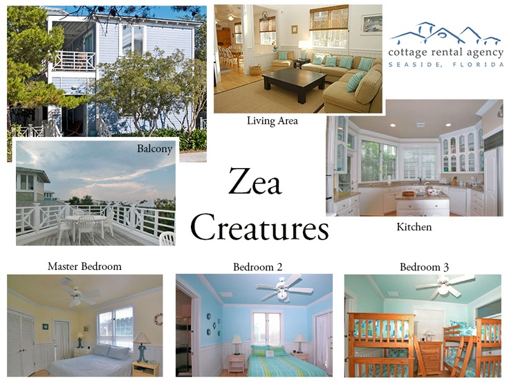Zea Creatures | Cottage Rental Agency | Seaside, Florida