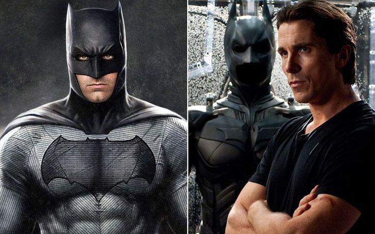 Christian Bale admires Batman v Superman