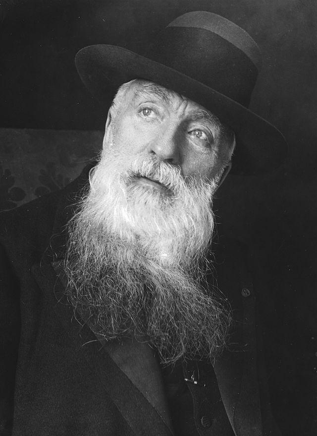 Огюст Роден ,  фотография   П. Шумова