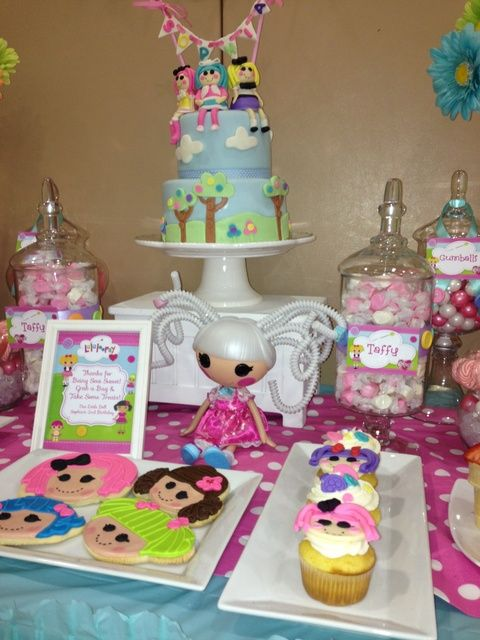 Photo 1 of 77: Lalaloopsy Party / Birthday Sophia Lalaloopsy Party | Catch My Party
