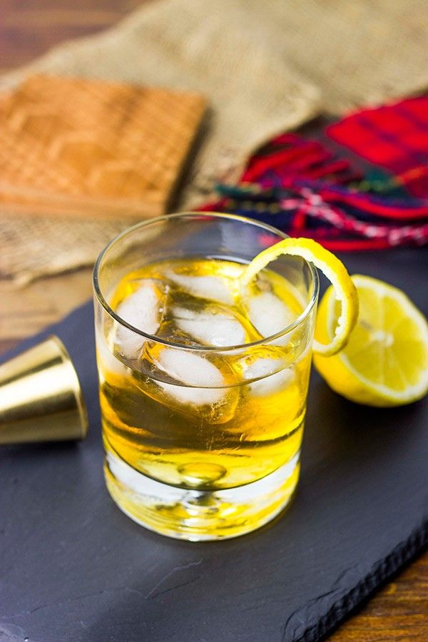 The Rusty Nail is a classic (and simple!) cocktail that everyone should know how to make!