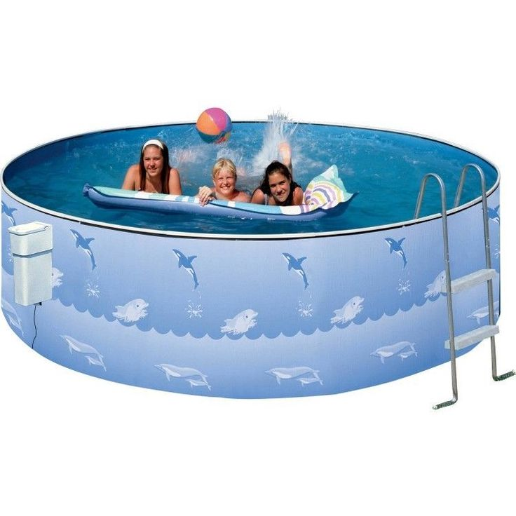 Outdoors Inflatable Swimming Pool Patio Family Garden Round Ladder Backyard Kids #OutdoorsInflatableSwimmingPool