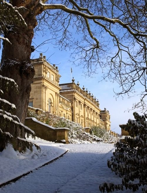 591 best images about british palladian architecture on for Harewood house garden design