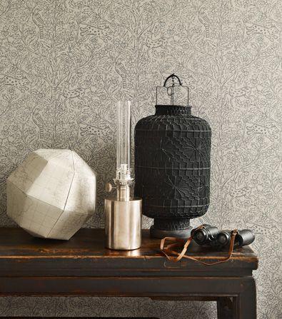 Eden - Wallpaper - Sandberg Tyg & Tapet