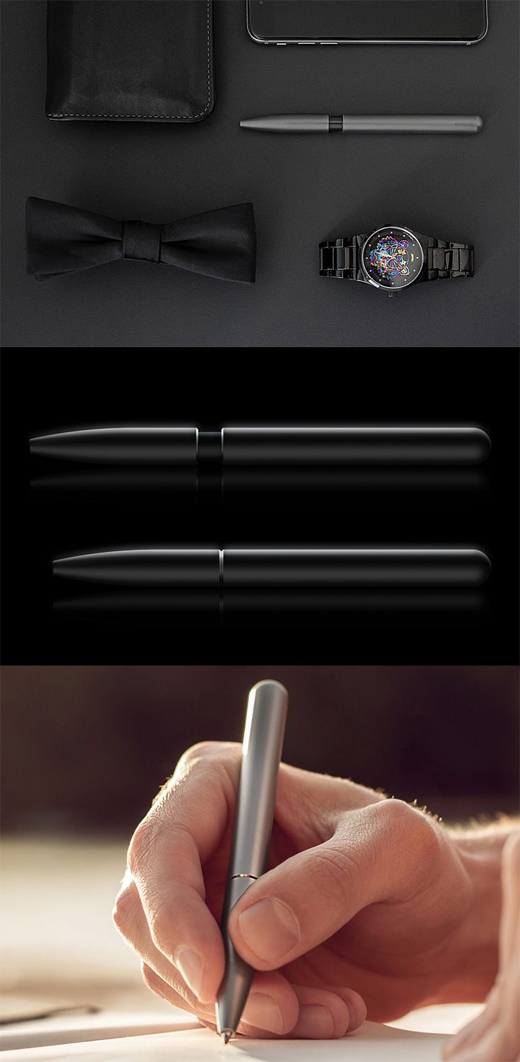 The 'Kosmos' strikes an elusive middle-ground with its drop-dead class by bringing the elegance of the fountain pen to the writing prowess of gel-pen technology... READ MORE at Yanko Design !