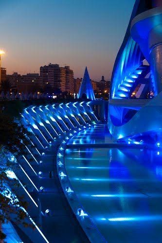 Ciutat de les Arts i les Ciències, Valencia, Spain.