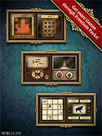 Clockwork Brain - Insanely fun brain puzzles by Total Eclipse.  Lots of these games in the app store.  What makes this one different IMO?  The UI and Graphics. Visually pleasing, fun and challenging.  Universal app.  Free, comes with sampler pack.  Additional packs via IAP.