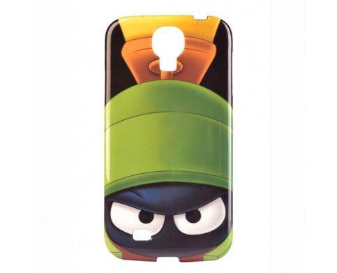 Tapa Looney Tunes Samsung S4 Space Marvin   Carcasa Samsung S4 Marvin   Marciano atento para proteger tu Smartphone o destruir la tierra?   ajuste perfecto, completo acceso a puertos, botones y completa protección   exterior suave para cómodo y agradable uso   www.gsmchile.cl