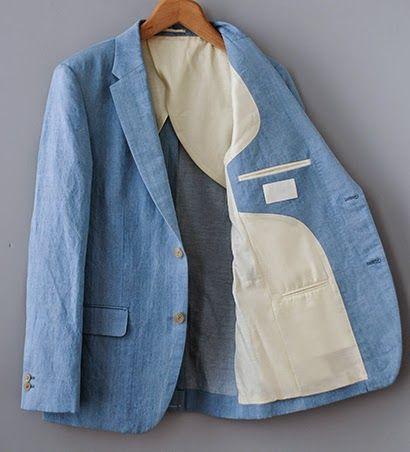 This, gentlemen, is an `unstructured' jacket