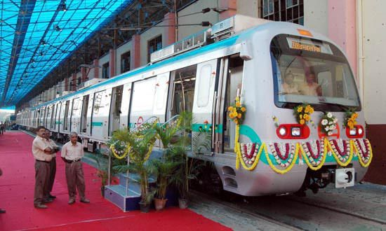Chaos as announcement inside Namma Metro was in Tamil
