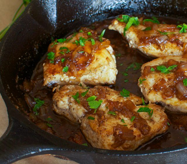 Honey Beer Chicken. So easy and quick!