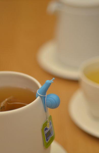 Party snail pour accrocher votre sac de thé sur votre tasse par Soulfun