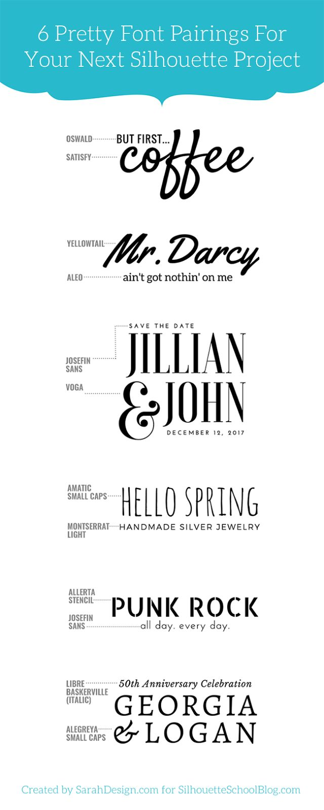 18 best Wedding Invitation Font Combinations images on Pinterest ...